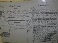 A l'abbaye de Auberive, une archive