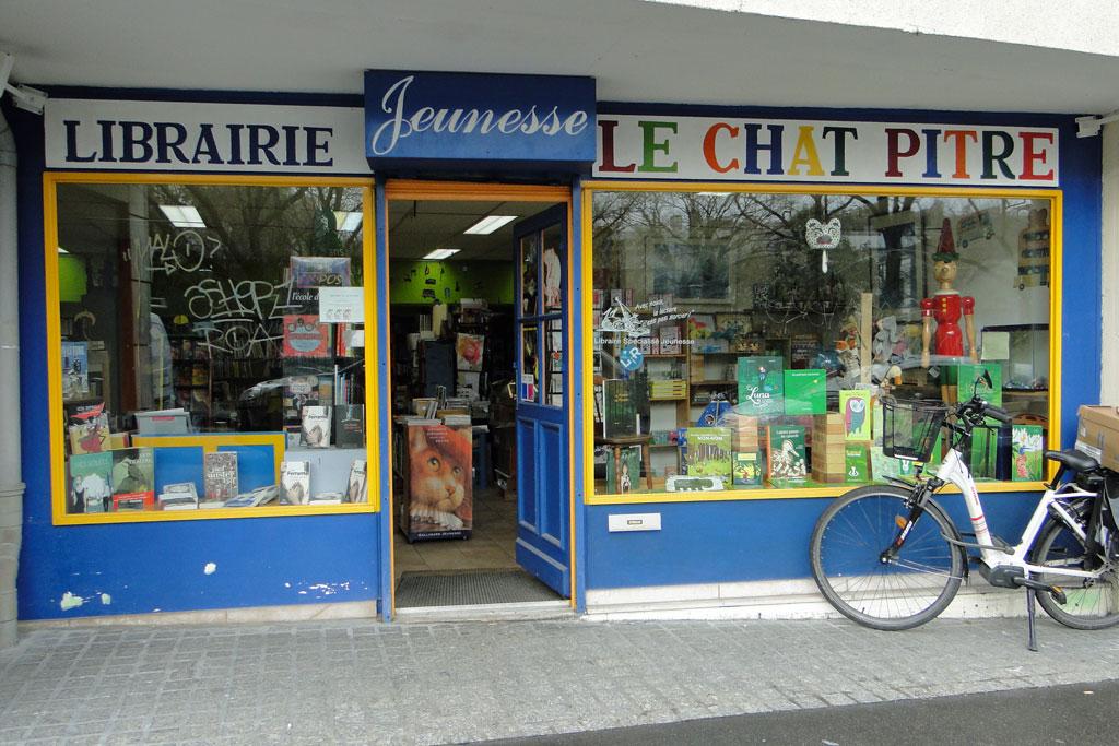Devantures de librairie