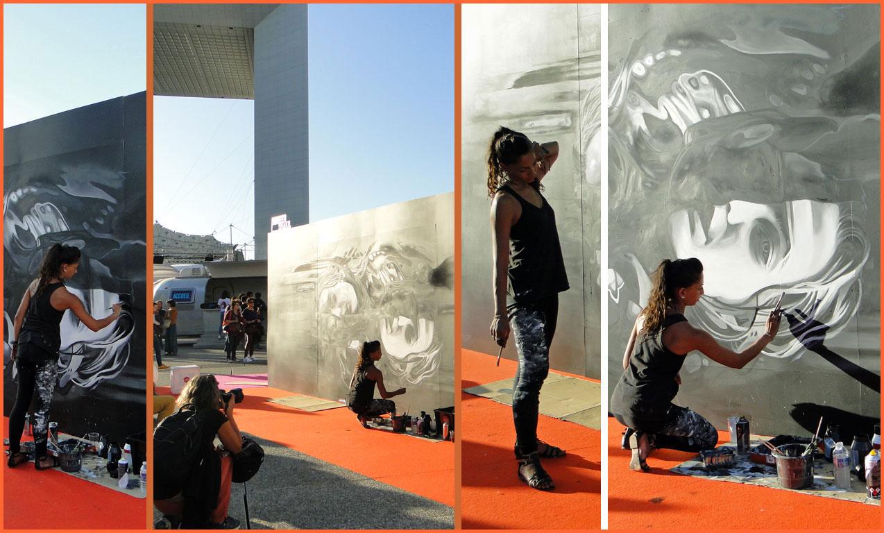 Art urbain à la Défense
