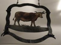 vache d'enseigne