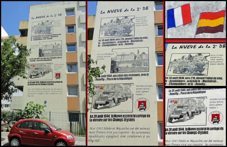 LA NUEVE À PARIS