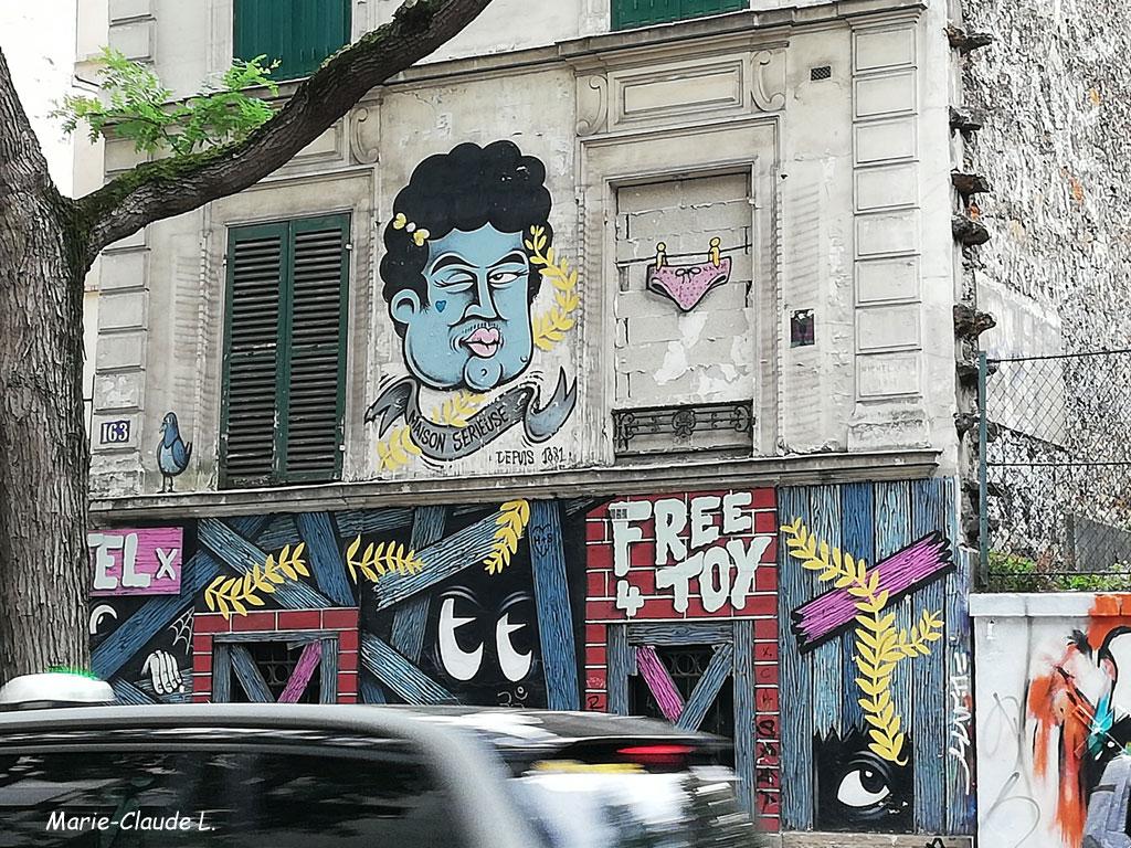 Street-art hors Paris 13