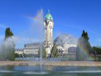 Fontaine gare des Bénédictins
