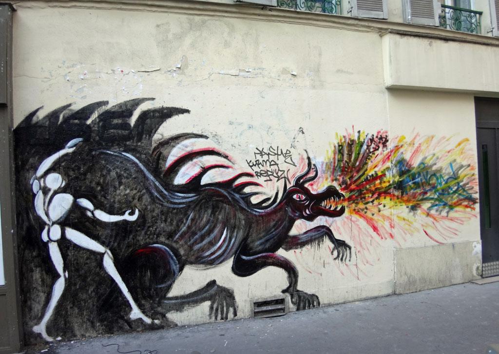 Street art hors Paris 13