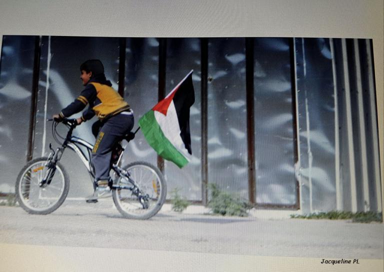 vélo-Palestine
