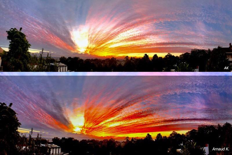 Les couchers de soleil d'Arnaud...