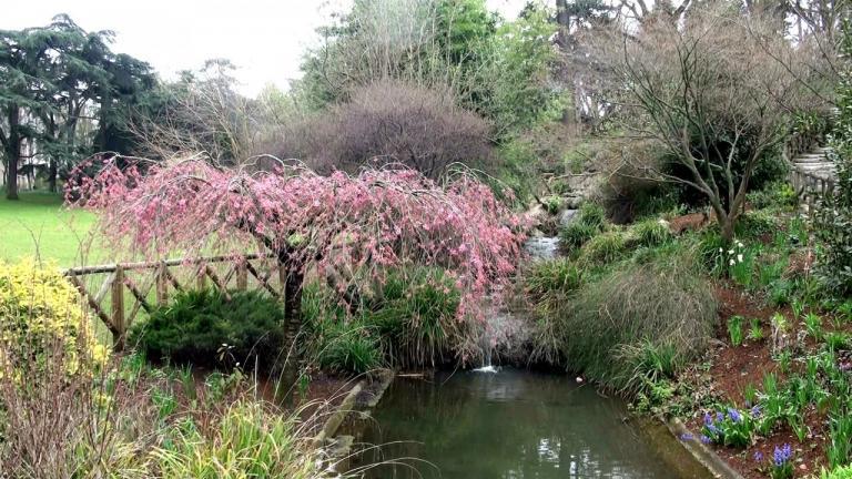 Au parc Montsouris