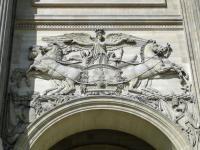 Louvre zoom façade est