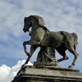 Le cheval du guerrier romain