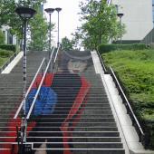 Escalier-dame