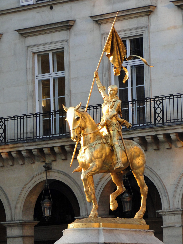 Jeanne d'Arc, Paris