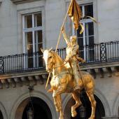 Jeanne d'Arc, Paris
