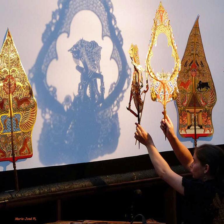 Le mahabharata theatre d ombres indonesie
