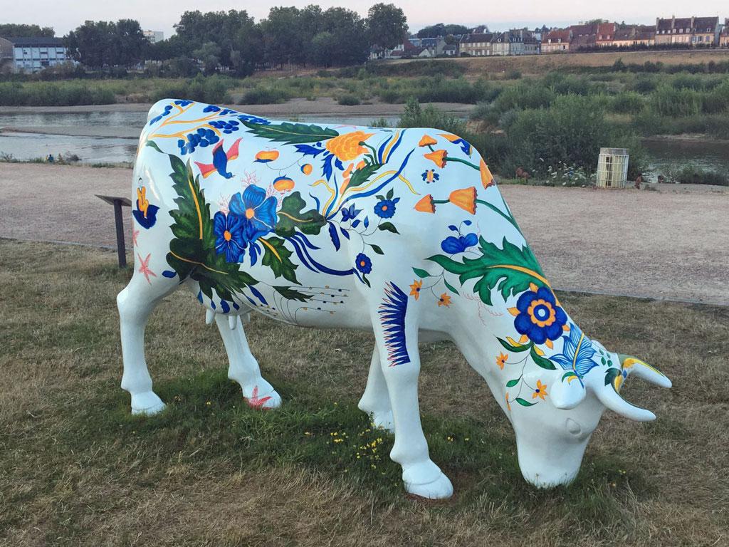 Moulins : oh la vache !