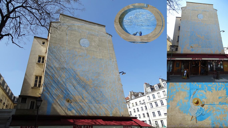 Art de la rue :  les trompe-l'œil