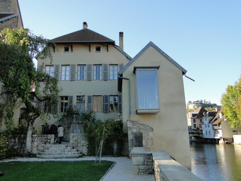 Musée Gustave Courbet à Ornans en 2016