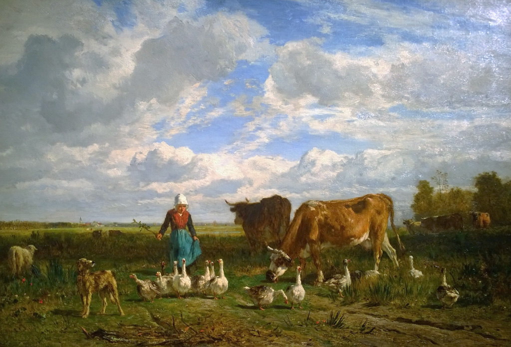 Avec les oies