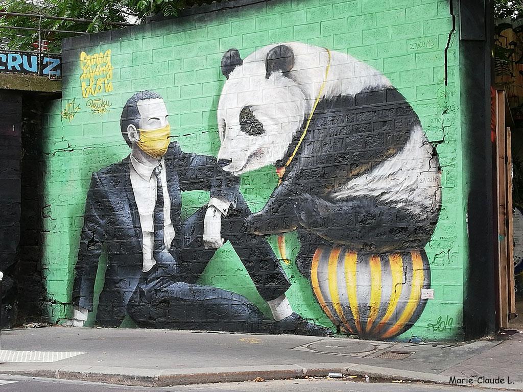 Panda-sur-ballon