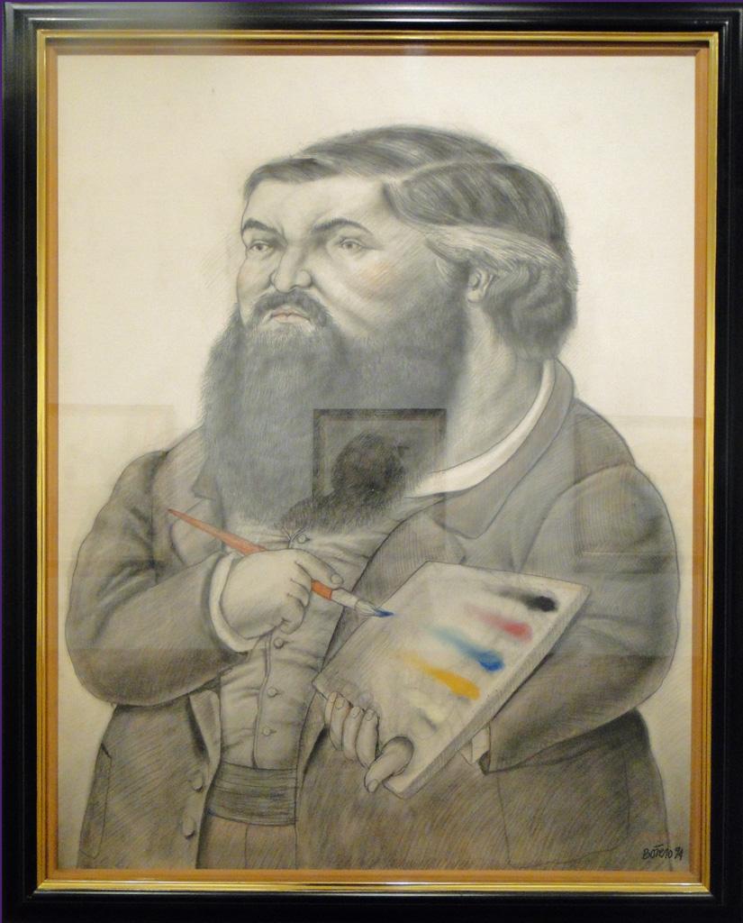 Courbet par Botero