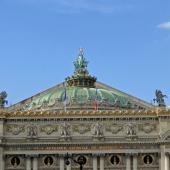 Sur les toits de l'Opéra