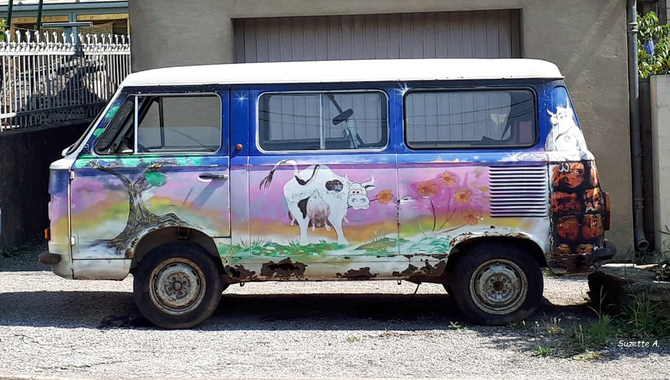 Vache à fleur
