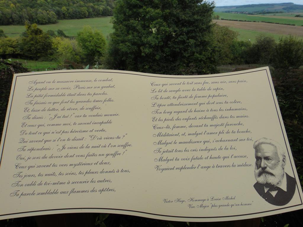 l'Hommage de Victor Hugo (exposition Vroncourt)