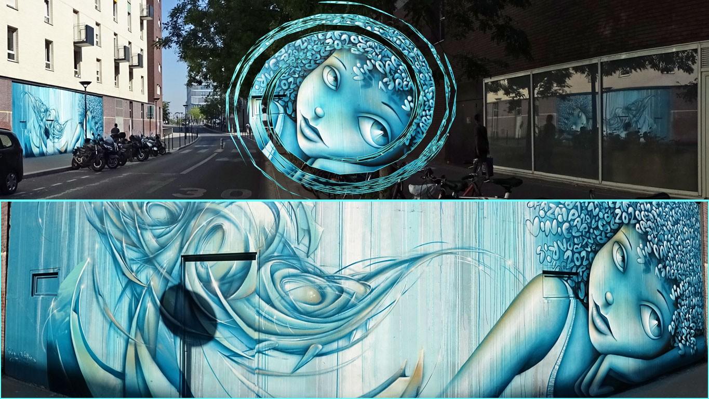 Fresques horizontales