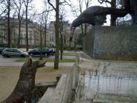 Statue jardin du Ranelagh